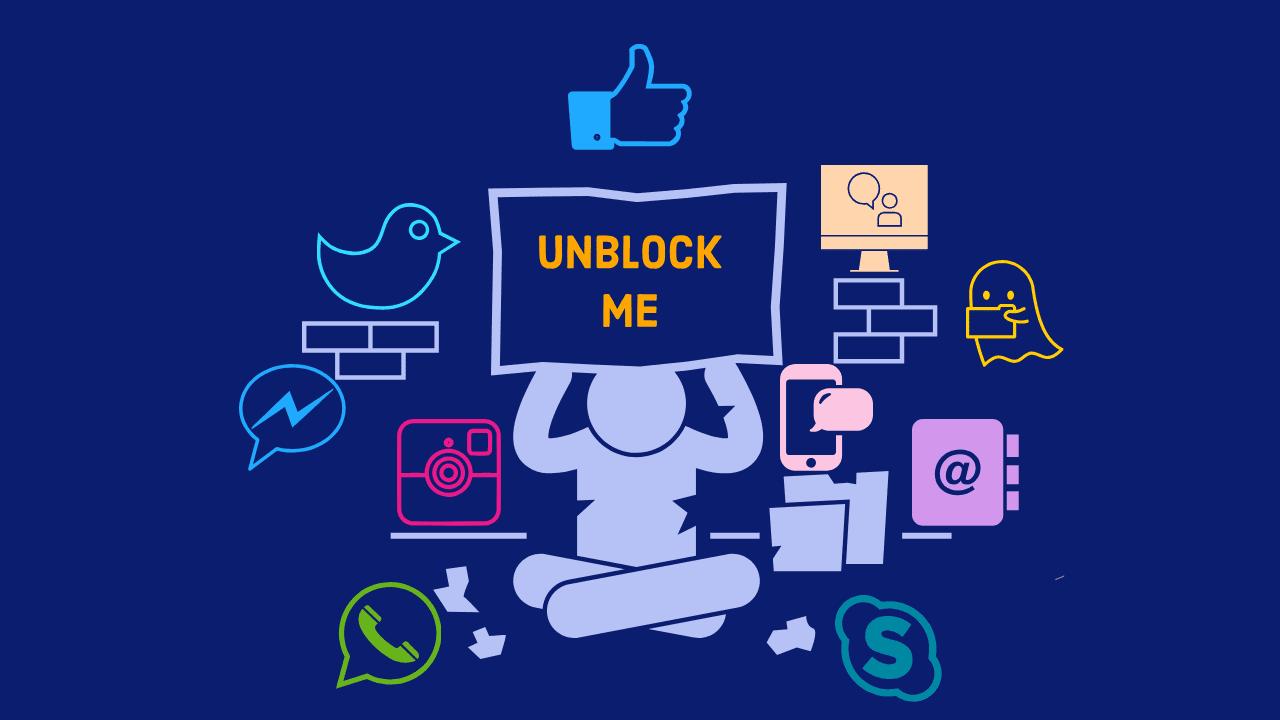 My ex girlfriend blocked me on facebook
