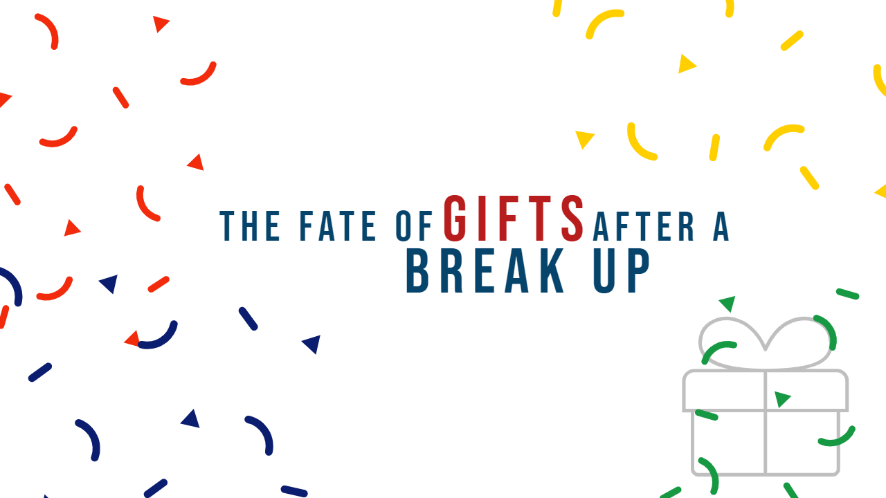 What to do with gifts after a breakup