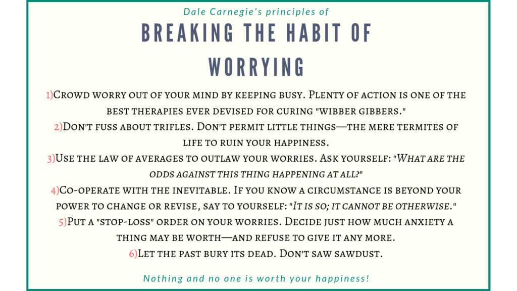 worrying after the breakup
