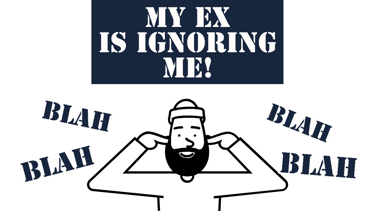 I text ex did me why my am how asking My Ex