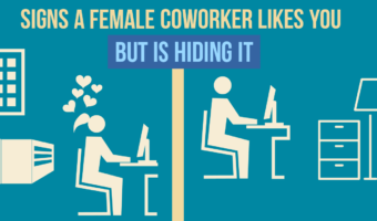 9 Signs A Female Coworker Likes You But Is Hiding It