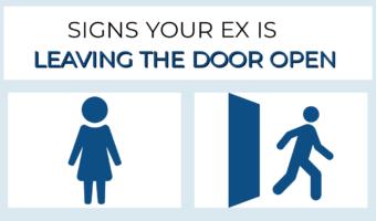 7 Signs Your Ex Is Leaving The Door Open 🚪
