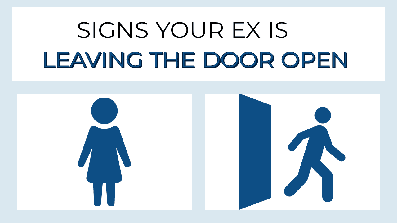 You wants signs gf back ex Signs My